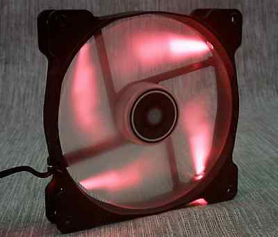 Ventilateur 120mm Corsair SP120 LED rouge