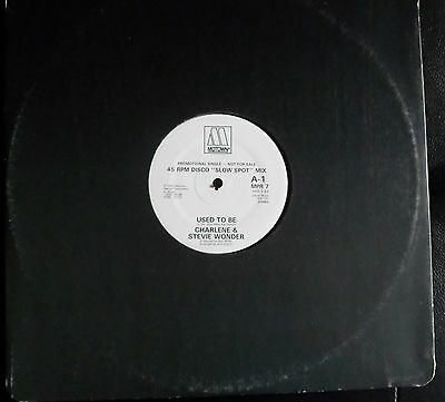 "Charlene&stevie Wonder-Used To Be//lionel Richie -Truly-12""dj Copy-Ex/1982"