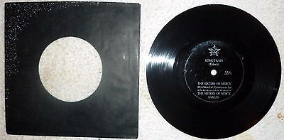 """The Sisters Of Mercy-Long Train-7"""" Flexi Disc"""