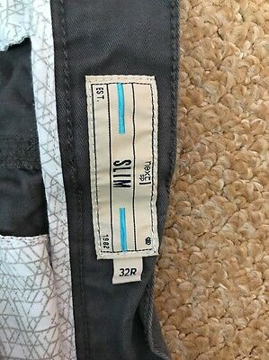 "Mens Slim Fit Trousers Waist 32"" from NEXT"