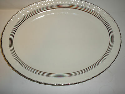 Pope-Grosser Platter Estella 15 inches by 11 1/4