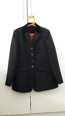 Shires Child Black Show Jacket size 32""