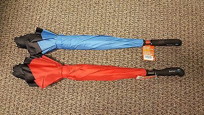 NEW Lot of 2! Better Brella Umbrella Red And Blue! FREE SHIPPING