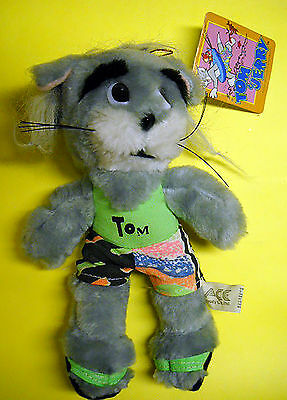 Tom and Jerry Ace Novelty Plush Tom the Cat 1989 Vintage Great Shape Tags