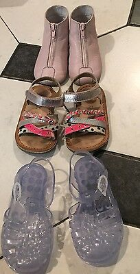 Chaussures fille Taille 23/24 (Chaussons, méduses, sandales)