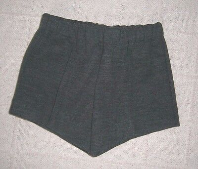 Vintage Jersey Shorts - Age 4-5 Years - Approx - Charcoal Grey - New