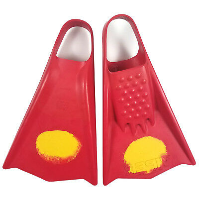 Mike Stewart Viper Swimfins – Red/Yellow