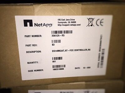 NEW NetApp X5612A-R5 AT-FCX Controller Module for DS14 MK2