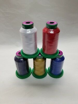 Isacord Embroidery Thread 1000m 40w Poly 0015white Amann
