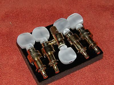 New Grover 124G5 Gold Plated Tuners for a 5 String Banjo