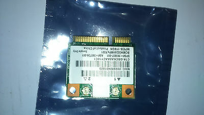 BCM 94322 mini wifi card wpeb-119gn for laptops sony dell hp