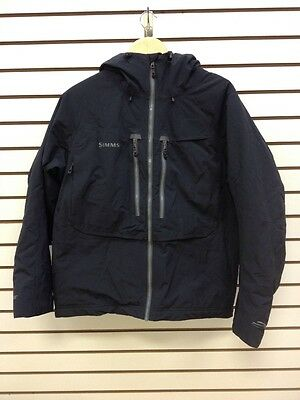 Simms Bulkley Jacket: Black, Size Medium