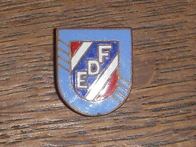 Chobillon Insigne Badge Pin's Edf Ancien 1946