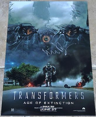 Transformers Age Of Extinction Signed Photo Michael Bay #2