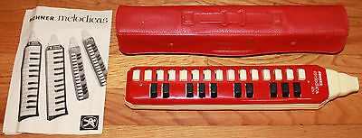 Hohner Melodica Alto with Mouth Piece, Case & Manual Germany