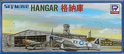 Pit-Road Skywave 1/700 Aircraft Hangar Kit 1+1