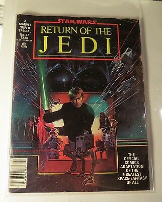 Marvel Super Special #27 Magazine Return of thr Jedi Bronze age  Vintage  MG87
