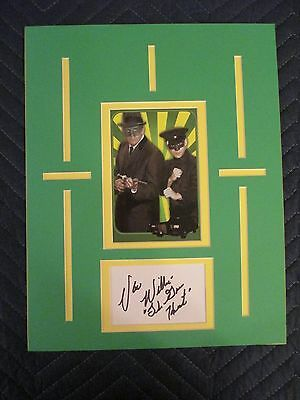 The Green Hornet Autographed by Van Williams
