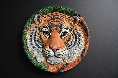"""Franklin Mint """"Eye of the Tiger"""" Collectors Plate"""