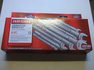 New Craftsman Mm Combination Wrench Set.