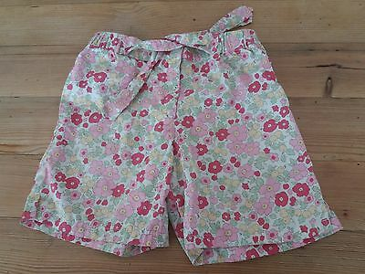 Mini Boden Girls' Floral Shorts Age 5 - 6