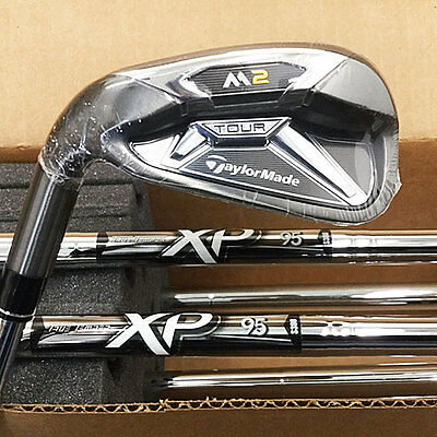 Taylormade 2016 M2 Tour Iron Set 4-Pw, Aw Xp 95 Steel Stiff *left-Handed 17700