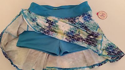 NEW Girls Skort Skirt by SO  Size Large L 14 with Shorts Clothes