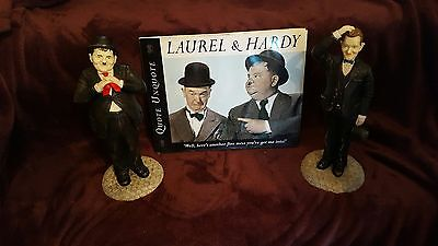LEONARDO Hollywood Movie Stars - Laurel & Hardy + Quote Unquote Book **BARGAIN**