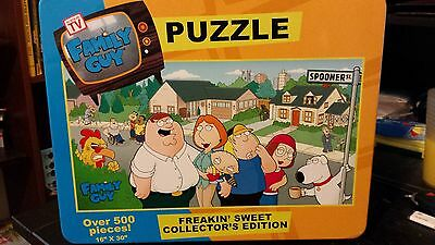 Family Guy Puzzle Freakin' Sweet Collecter's Edition