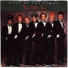 """The Belle Stars- Sign of the Times 1983 7"""" Vinyl Single"""