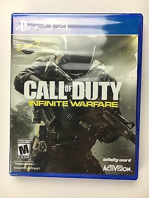 Call of Duty: Infinite Warfare PlayStation 4 Brand New & Factory Sealed