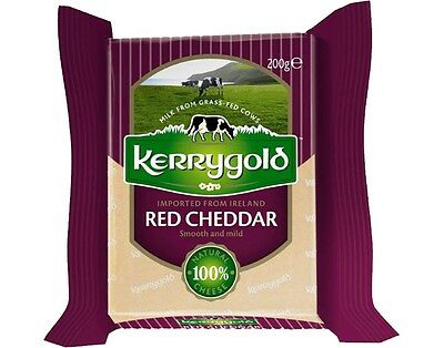 100% Natural Cheese Red Cheddar Kerrygold/ Imported from Ireland / Free Shipping