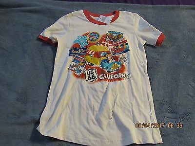 Disneyland California Adventure Kids T-Shirt Shirt Medium M Mickey Mouse