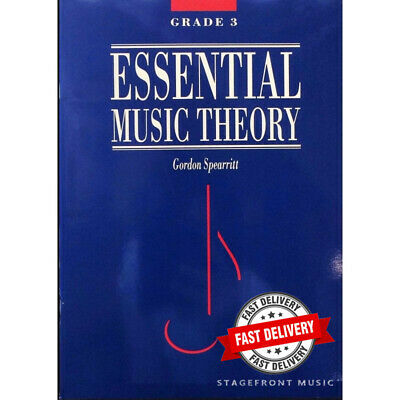 Essential Music Theory Grade 3 - Gordon Spearritt *New*