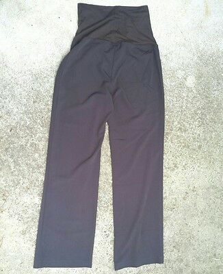 Ripe Maternity Brown pants trousers work comfort Womans Size S Small NWT