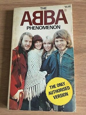 The Abba Phenomenon   - Rare Australian Book