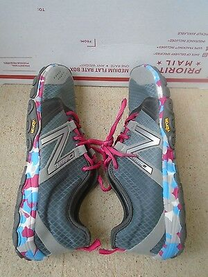 Women's New Balance Minimus multi color athletic running shoes size 8M