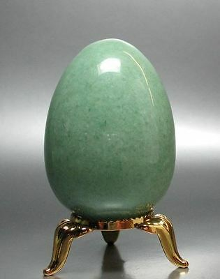 Aventurine Egg with Stand
