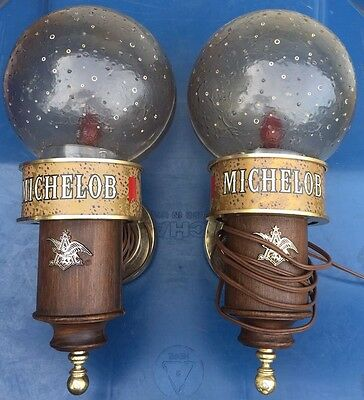 Michelob Beer Bar Light Wall Sconces