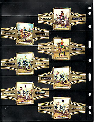 Cigar Bands... (Ritmeester Large Size)...all Different (Lot 0492)