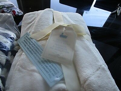 Pottery Barn kids Hooded Fleece Robe size 8 - 10  large  New