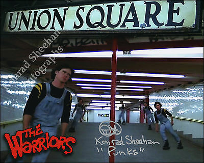 Signed Movie Photo Picture By Konrad Sheehan The Warriors The Wanderers Brubaker