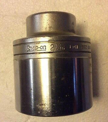 Snap On 3/4 Inch Drive 2 1/16 Inch Socket 12 Pt Ldh 662