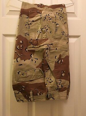 US Military Desert Storm Chocolate Chip BDU Pants S/S - Pre-Owned