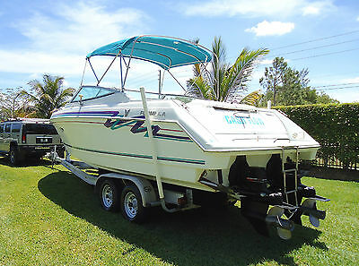 1997 FORMULA 280SS Cabin Cruiser Twin Mercruiser V8 w/ Trailer LOW RESERVE