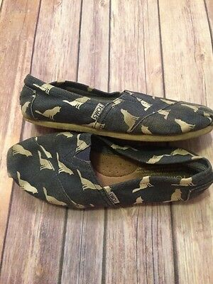 Toms Women's Size 7 Well Worn Flats Shoes
