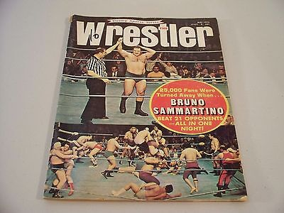 The Wrestler Victory Series May 1972 Magazine