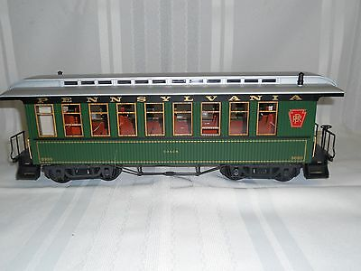 Lgb 3080 E 01  Pennsylvania Passenger Train Car    G Scale   In The Original Box