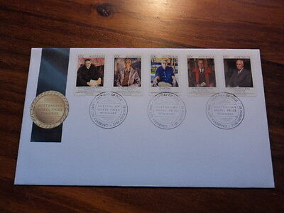 Australia FDC First Day Cover unaddressed 2012 Nobel prize winners
