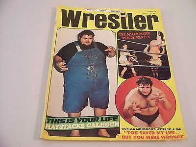 The Wrestler Victory Series  July 1972  Magazine